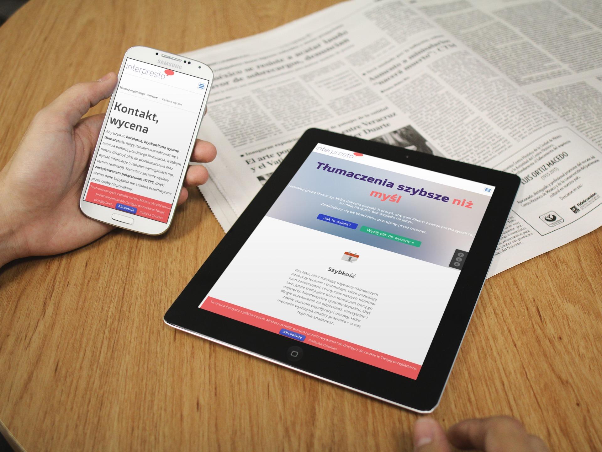 Nowa wersja strony Interpresto